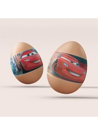 Disney Cars-1 Yumurta Sticker Renkli
